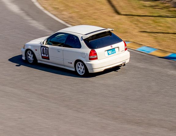 Central Circuit セントラル サーキット Wing Honda EK9 CIVIC ホンダ シビック