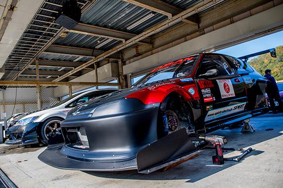 Central Circuit セントラルサーキット ASLAN Honda Civic EG6 TON ホンダ シビック
