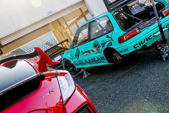 Central Circuit セントラルサーキット ASLAN アスラン ホンダ シビック Honda Civic EF9