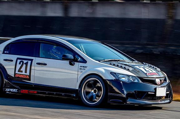 Central Circuit セントラルサーキット ASLAN アスラン ホンダ シビック Honda Civic FD2