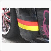 ノーブランド ドイツ国旗ステッカー