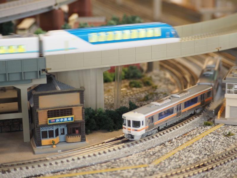 鉄道カフェはるか 高山本線 キハ25形 近鉄 しまかぜ(1)