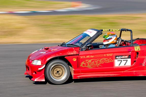鈴鹿ツイン 鈴鹿ツインサーキット SuzukaTwinCircuit HAOC HAOC走行会 Automac オートマック ホンダ ビート Honda Beat まわるおっさん