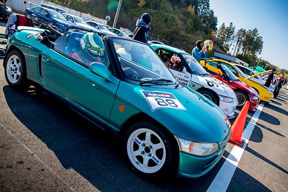 鈴鹿ツインサーキット Suzuka Twin Circuit HAOC走行会 Honda ホンダ PP1 ビート オートマック Automac NANYARA AUTO ナンヤラオート