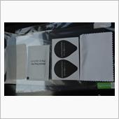 LFOTPP ホンダ シャトル 専用 エアコンパネル 保護フィルム 4枚セット 高感度タッチ 反射防の画像