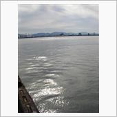 冬季 松山市三津浜港の画像