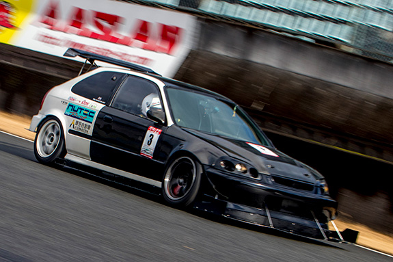 CTAC 厚見自動車 NUTEC K-Swapped EK9 Honda CIVIC K20