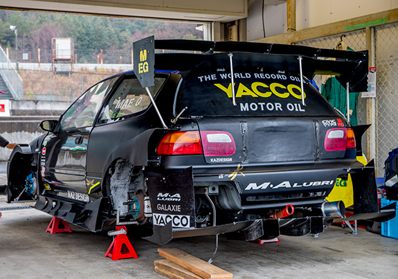 CTAC MEISTER ★KAZ DESIGN★ Mecha K-Swapped Honda EG6 CIVIC