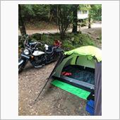 キャンプツーリング 道志の森