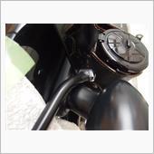 FEHLING リアラック ブラック for HD Softail Blackline