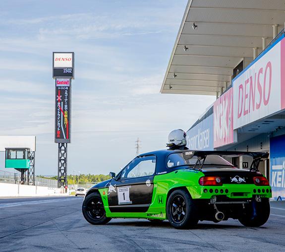 HONDA VTEC ONE MAKE RACE Honda Beat Today PP1 mistbahn