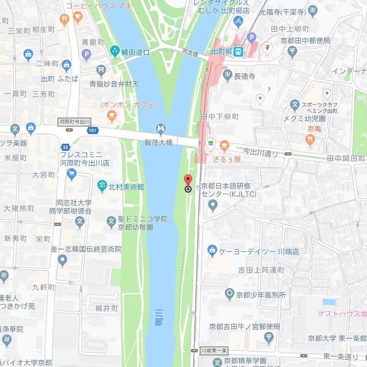 googleMap 田中下柳町