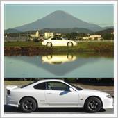 月は出ているか&プチ逆さ富士