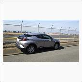 C-HR  in front Air Base