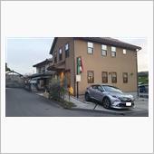 C-HR in 山奥のイタリアン