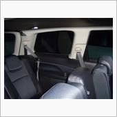 EXIGA パノラミックガラスルーフ 3列シート部分 ルームランプ増設の画像