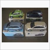 コレクションのミニカーの画像