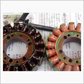 ステータコイル&レギュレータレクチファイヤ交換の画像