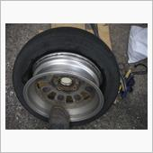 タイヤレバーでタイヤ交換①