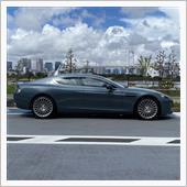 Aston Martin Rapide S In Daiba, Tokyo