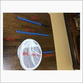 卓球の球拾い用玉網作成(改造)