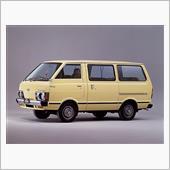 以前に家族所有していた車輌です 日産バネットワゴンです