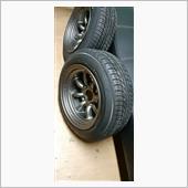 タイヤ付けました。