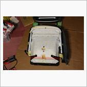 同車種・他仕様の純正部品を用いたシートヒーター流用取り付け - その15 シート分解4