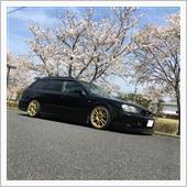 桜レガシィ2021の画像