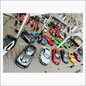 太田川スーパーカー展示会の画像
