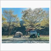 uazで初キャンプ