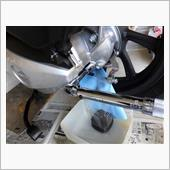 【PCX JF81】ファイナルリダクションオイル交換(トランスミッションオイル交換)の画像