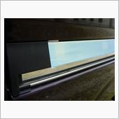 Rrスライドドアレールガーニッシュ製作の画像