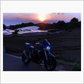 2021/5/23 夕日と富士山