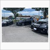 仙台市内の洗車場にて