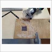 床貼り その3 (シート台座と床断熱)
