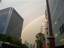 虹!とオフのフォトギャラ♪