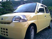 久しぶりの洗車②