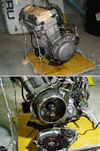 ZX-4エンジン到着