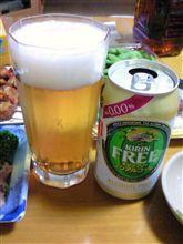 0.00%のビール♪