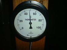 次の足湯は50度