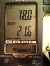 70kgへの道 残り30日