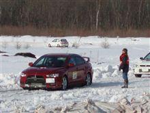2009年2月15日北海道ラリー選手権EZOエンドレスラリー参戦!