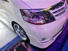 アルファードに「VIPER V70 CODE+(コードプラス)LEDカスタム」