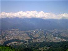 陣馬形山へ