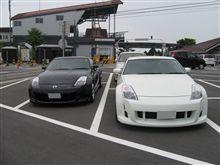 白黒Z33ツーリングin筑波山