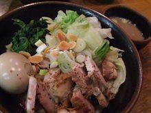 大山家@武蔵境にて、限定「味噌油そばSP」を