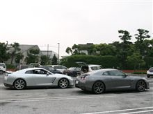 GT-Rで横浜へ