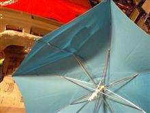 傘折れ3連本修理!