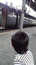 今日は大牟田駅に来てます